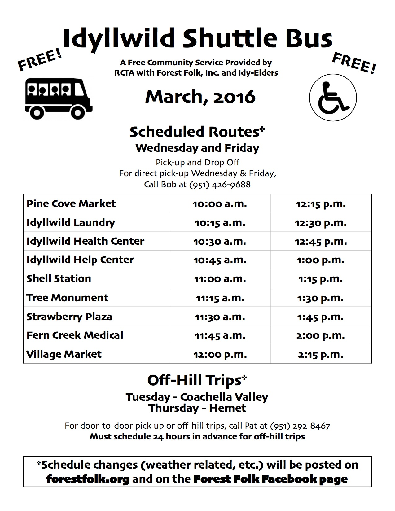 shuttle bus schedule View our tradeshow's shuttle bus schedule and when you can expect to be picked up.