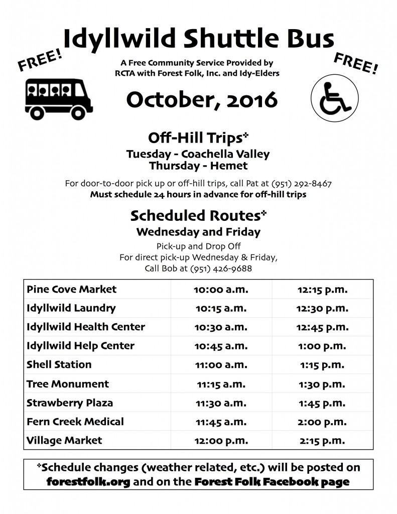 forest-folk-bus-schedule-oct-2016