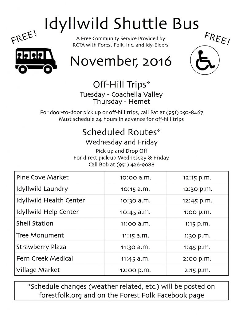 forest-folk-bus-schedule-nov-2016